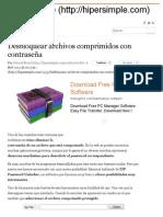 Desbloquear Archivos Comprimidos Con Contraseña _ Hiper Simple