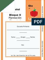 6to Grado - Bloque 2 - Español