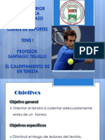 tennis trabjo