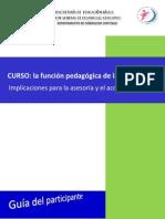 CFC LA FUNCIÓN  PEDAGÓGICA DE LA SUPERVISIÓN FINAL....docx