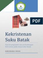 Kekristenan Suku Batak