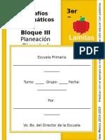 3er Grado - Bloque 3 - Desafíos Matemáticos.doc