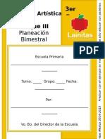 3er Grado - Bloque 3 - Educación Artística.doc