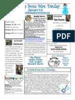 newsletter january 5-9