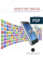 Privacy on the Go
