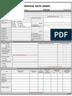 PDS for Civil Service PH