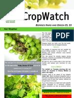 Adelaide Hills Crop Watch 160110