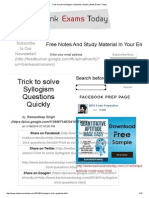 Trick to solve Syllogism Questions Quickly _ Bank Exams Today.pdf