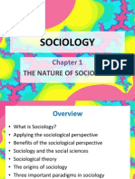 Chp 1 Nature of Sociology