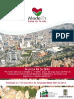 Pot Medellin - Acuerdo 48 - 2014