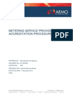 Metering Service Provider Accreditation Procedure ME MA1683v9 Final