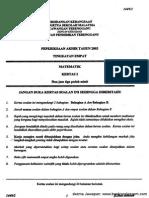 Kertas 2 Pep Pertengahan Tahun Ting 4 Terengganu 2003_soalan