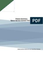 Feature Summary Epicor Service Connect 10.0.700