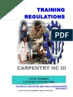 TR Carpentry NC III