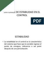 CRITERIOS DE ESTABILIDAD EN EL CONTROL.pptx