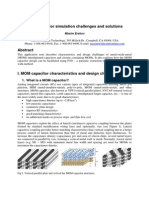 MOM Capacitor Design Challenges and Solutions SFT 200904