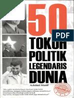 50 Tokoh Politik Legendaris Dunia - Ahmad Munif