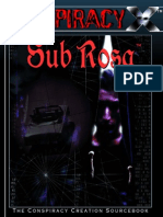 Conspiracy X - Sub Rosa
