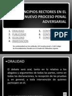Principios Rectores en El Nuevo Proceso Penal Adversarial