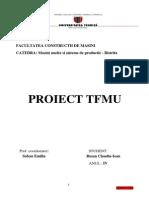 Facultatea Constructii de Masini Tfmu Proiect Rusan Claudiu