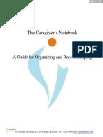 Caregiver Notebook