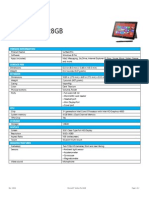 TDS Surface Pro 128GB 1303A