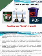 MoldTek Analyst Ppt121214