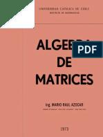 Algebra de Matrices