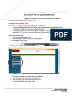 SchoolTool Parent Portal Quick Start Guide