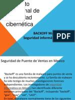 BACKOFF MALWARE Seguridad Informatica en Mexico