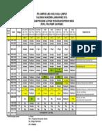 Kalendar Akademik Jan-Mei 2015