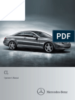 2012 CL Class Owner's Manual