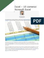 Tutorial Excel Foarte Util