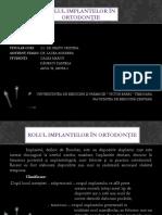Role of miniimplant in ortodontics