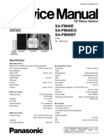 Panasonic Service Manual SAM46
