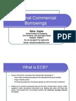External Commercial Borrowings- A Presentation