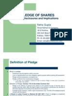 Pledge of Shares- A Presentation