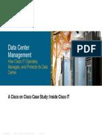 Cisco IT Case Study Data Center Management Print