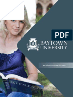 Baytown University Official Brochure