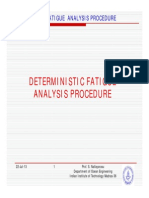 1 Deterministic Fatigue Analysis [Compatibility Mode]