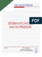 1 Deterministic Fatigue Analysis [Compatibility Mode]