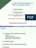 Ref 6- Arbitrary-Order Nodal Mimetic Discretizations