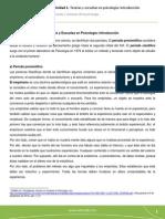Teorías y Escuelas en Psicología