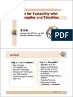 Design for Testability With DFT Compiler and TetraMax