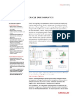 Oracle Sales Analytics-Datasheet