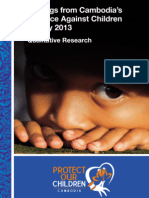 Qualitative Findings from Cambodia's Violence Against Children Survey 2013 [English]