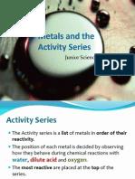 02 metals and reactivity - 01