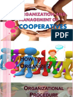 organization and management of cooperatives