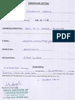 Examination Detail Jnu