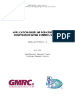 Application Guideline for Centrifugal Compressor Surge Control Systems